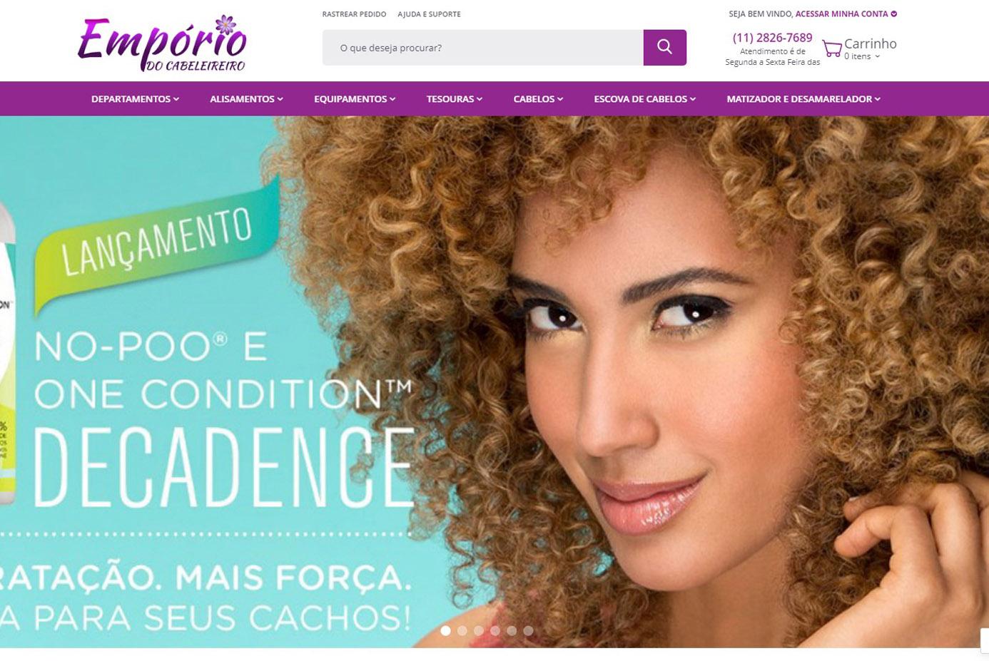 LOJA VIRTUAL EMPORIO DO CABELEIREIRO
