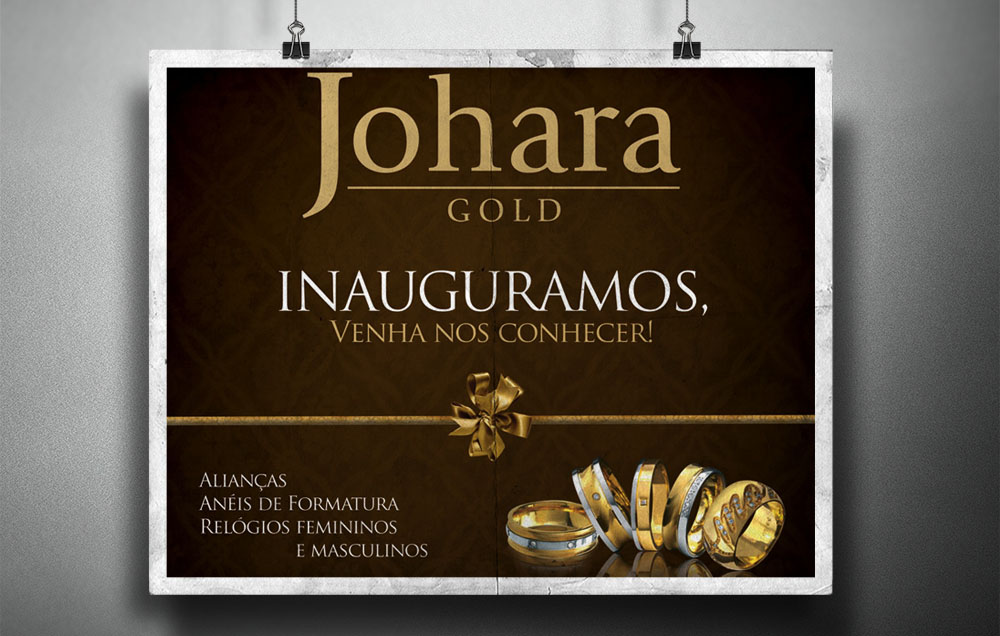 Joalherias JOHARA - Welcome Pack para Shopping Tatuapé