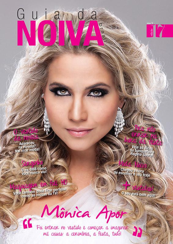 Capa Guia da Noiva edição 17 - Mônica Apor